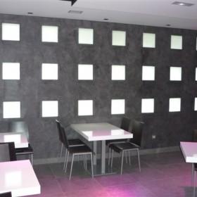 Cafeteria Circular color Nero Fumo
