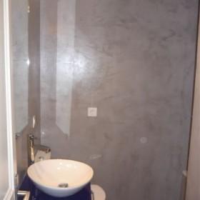Baño pared Gris Gato